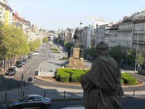 Velikonoční Praha – Václavské náměstí