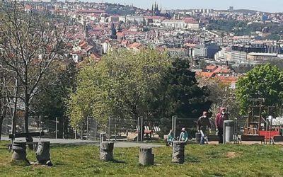 Jsem pražský turista :: Park Parukářka :: 12.05.2020