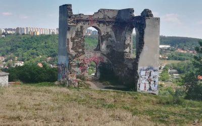Jsem pražský turista :: Zřícenina BABA :: 19.05.2020
