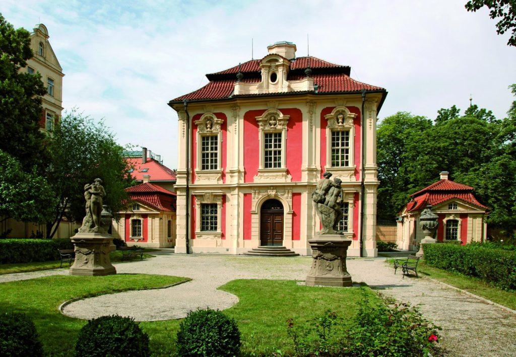 Muzeum Antonína Dvořáka Michnův letohrádek Praha Vila Amerika Zdroj: Encyklopedie Prahy