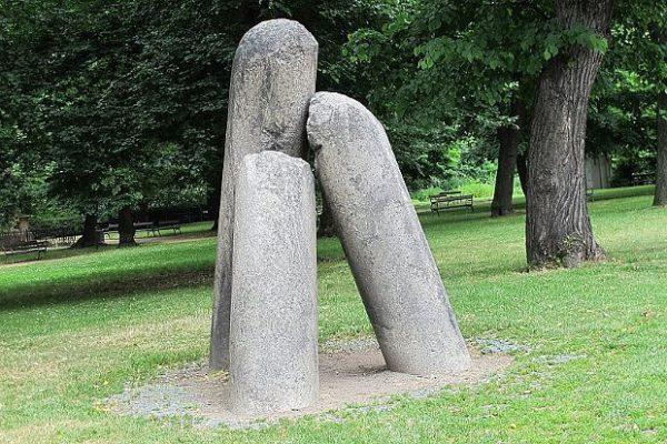 Praha Vyšehrad Čertovy kameny