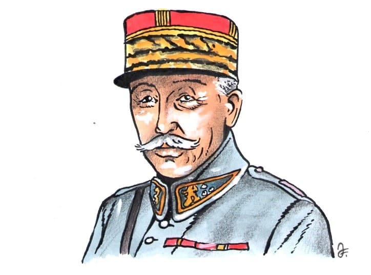 Generál Maurice Pellé (Kresba: Jiří Filípek)