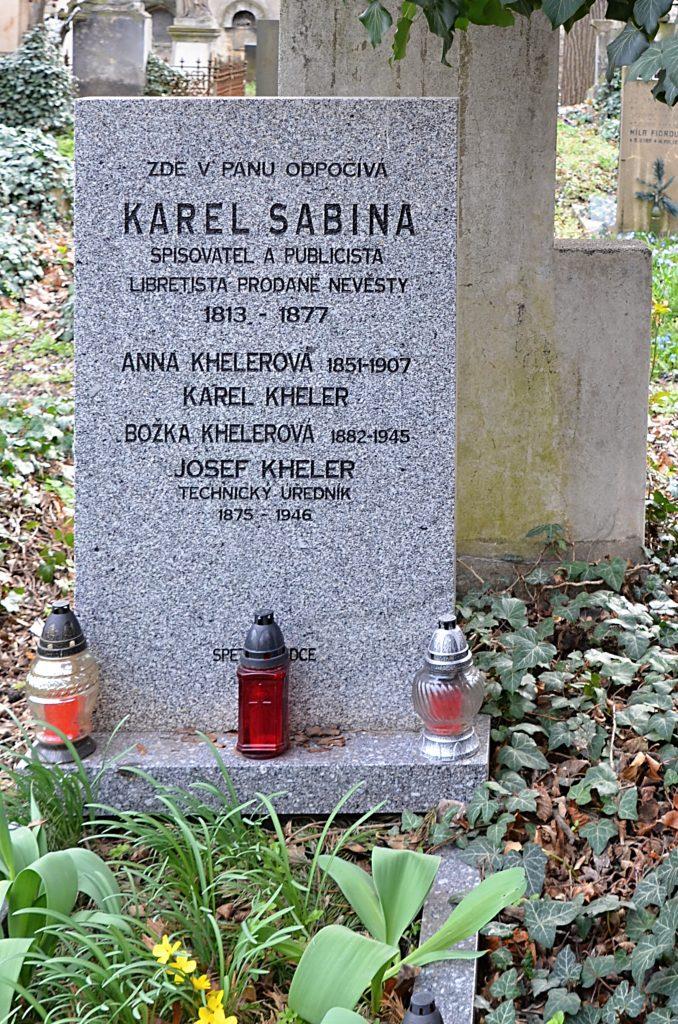 Sabinův pomník na Olšanech nesměl nést až do roku 1932 jeho jméno (Foto: Miloslav Čech)