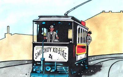 """Klamovka a """"její"""" tramvajová trať"""