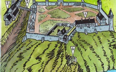 Hradiště Vyšehrad, husité, armáda a nedostatek vody