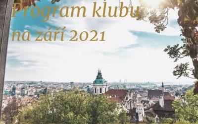 Klub Prahy křížem krážem: program na září 2021