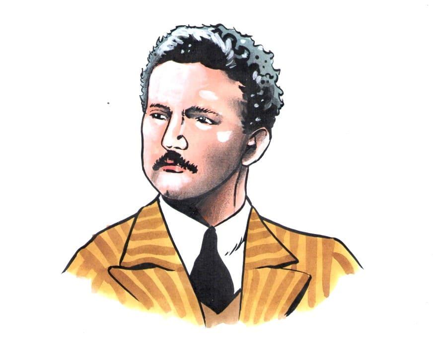 Jindřich Vaňha (Kresba: Jiří Filípek)