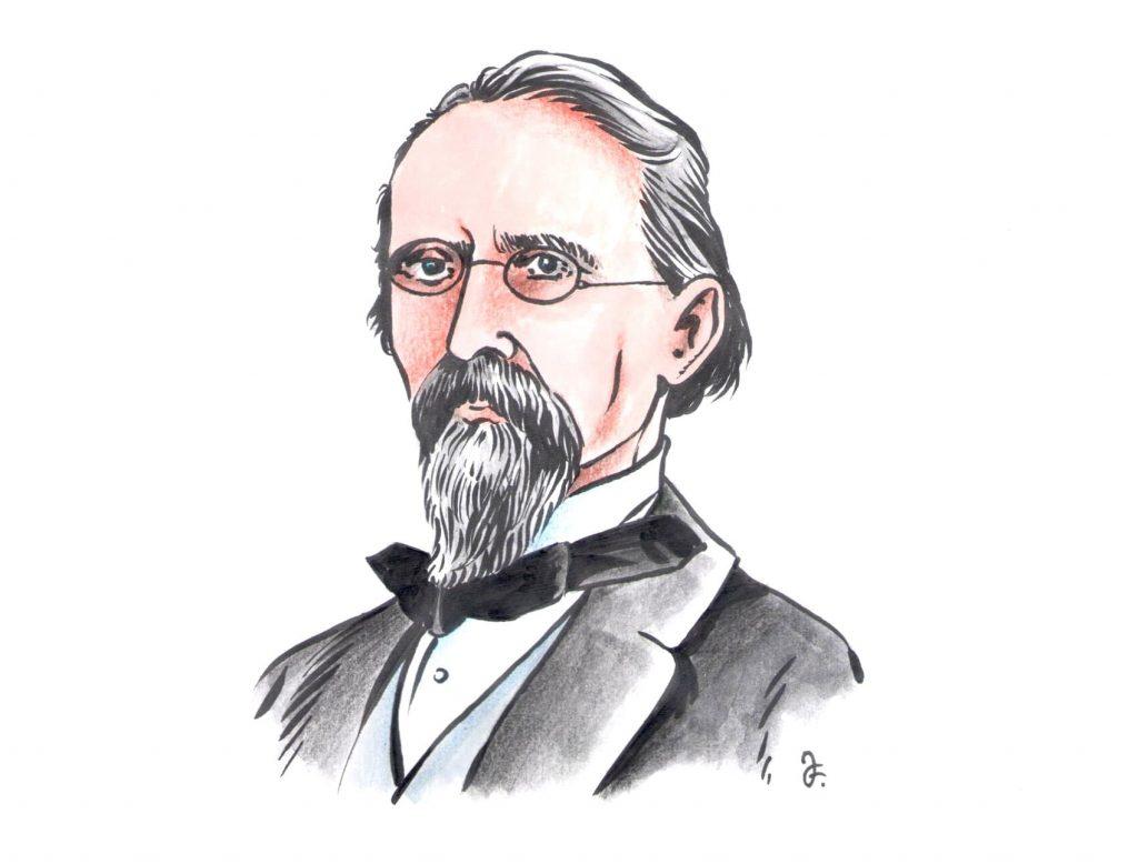 Václav Bolemír Nebeský (Kresba: Jiří Filípek)