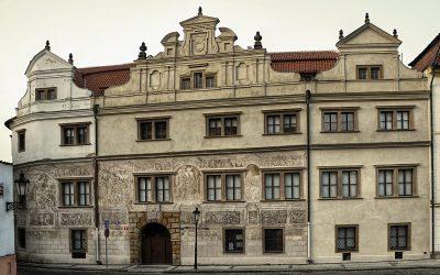 Martinický palác kopíroval zčásti královský palác